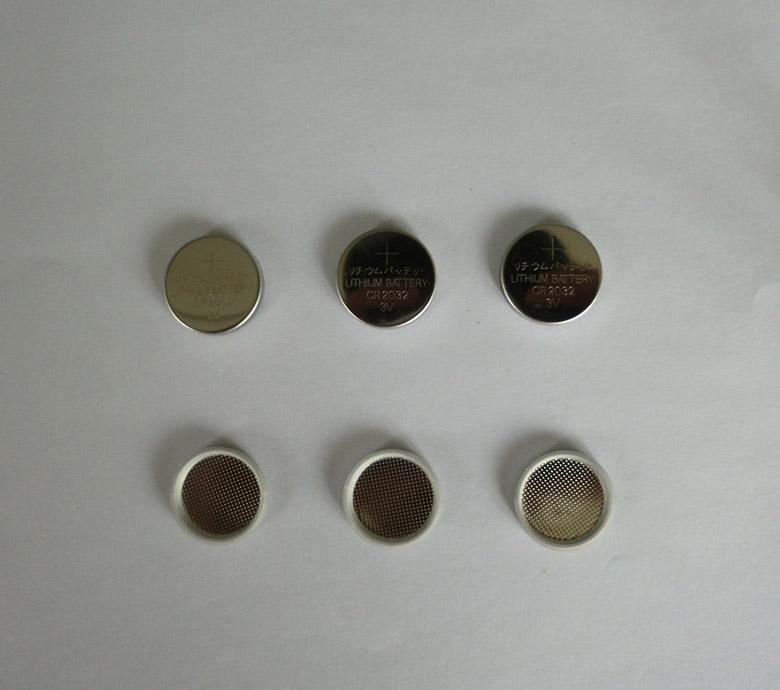 纽扣电池壳