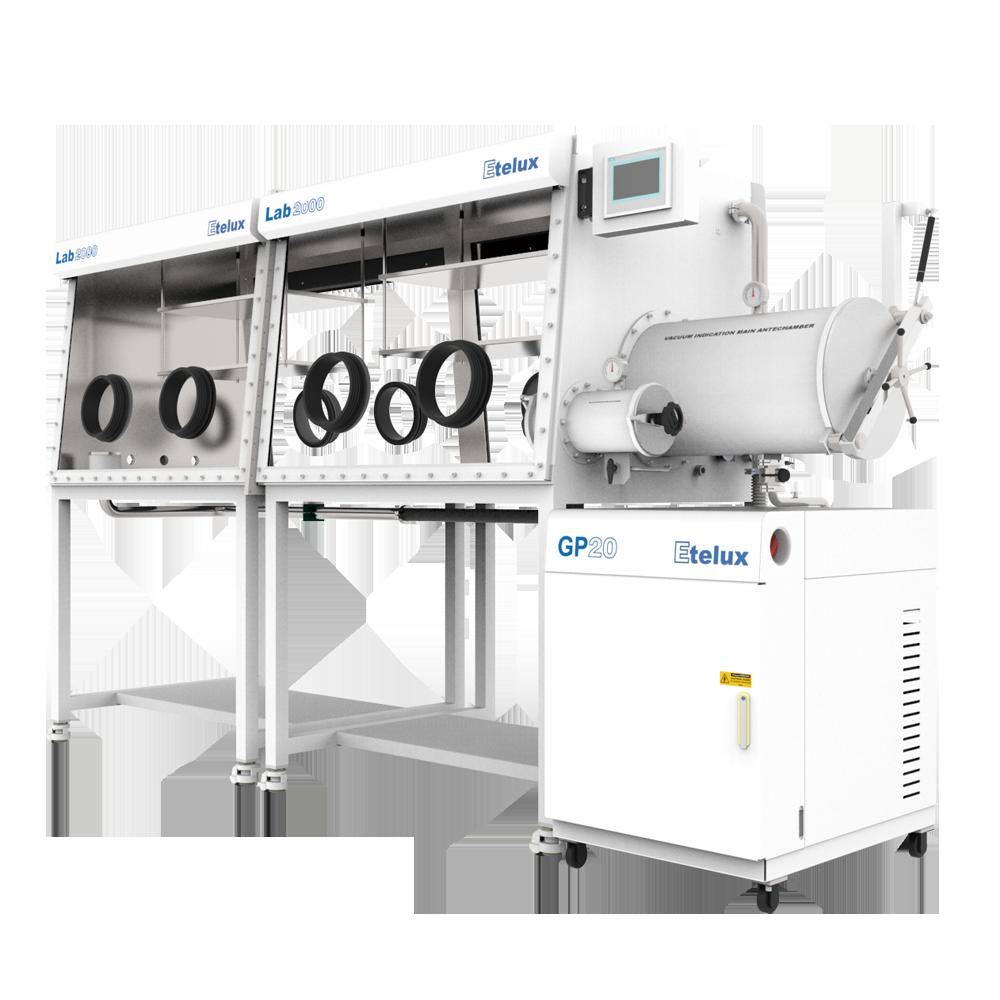 东莞Lab2000-2400四工位分体式双面手套箱