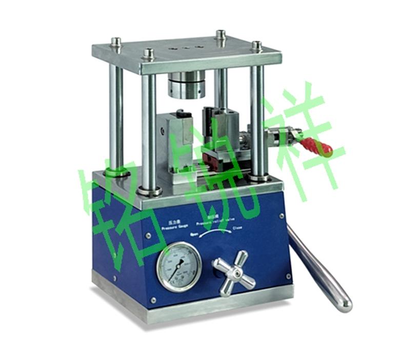手动圆柱电池封装机MRX-CF650